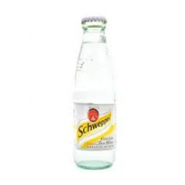Schweppes Slimeline Tonic Water Glass Bottle