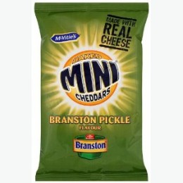 Mini Cheddars Branston Pickle